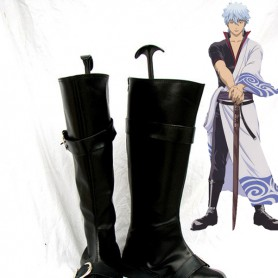 Silver Soul Cosplay Shoes Sakata Gintoki Cosplay Boots