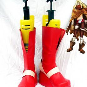 Gurren Lagann Viral Red Cosplay Boots