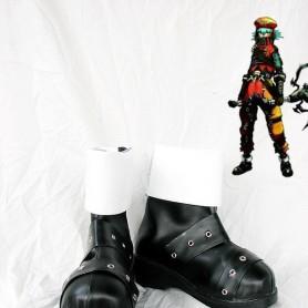 Hack//G.U. Kite Black & White Cosplay Boots