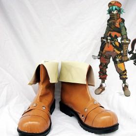 Hack//G.U. Kite Brown Cosplay Boots