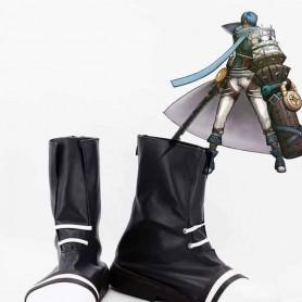 Hack//G.U. Ovan Black & White Cosplay Boots