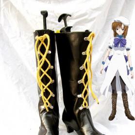 Higurashi No Naku koro Ni Rena Ryugu Cosplay Boots