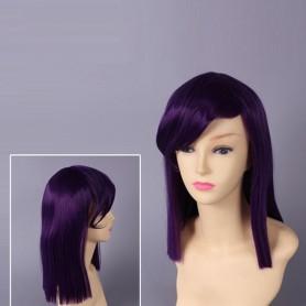 Mobile Suit Gundam 00 Tieria Erde Purple Cosplay Wig
