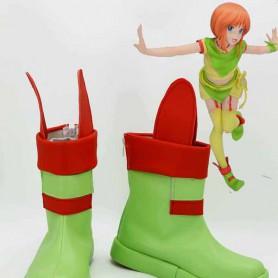 Mobile Suit Gundam ZZ Elpeo Ple Cosplay Boots
