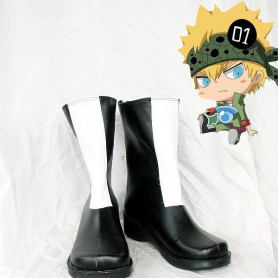 Hitman Reborn Colonnello Cosplay Boots