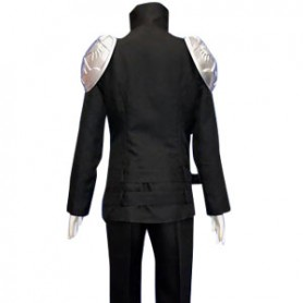 Hitman Reborn Cosplay Cool Black Byakuran Cosplay Costume