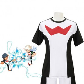 Inazuma Eleven Go Anime Black & White Cosplay Costume