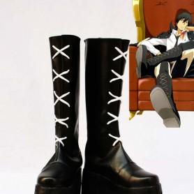 Hitman Reborn XANXUS Cosplay Show Boots