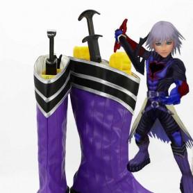 Kingdom Hearts Black Riku Cosplay Boots