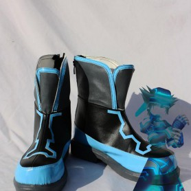 Kingdom Hearts Cosplay Sora Artificial Leather Cosplay Boots