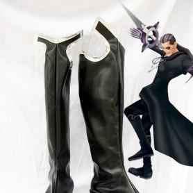Kingdom Hearts Cosplay Xigbar Black Cosplay Boots