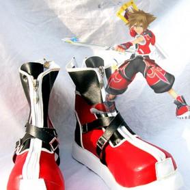 Kingdom Hearts II Sora Red Version Cosplay Boots