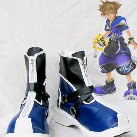 Kingdom Hearts II Sora Wisdom Form Blue Version Cosplay Boots