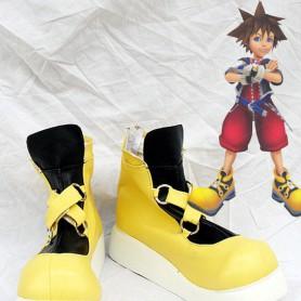 Kingdom Hearts Yellow Sora Cosplay Boots