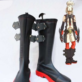The King of Fighters Cosplay Ash Crimson Leather Cosplay Shoes
