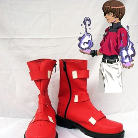 The King of Fighters Cosplay R-chris Cosplay Shoes