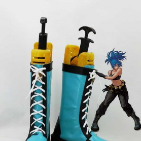 The King of Fighters Ieona Gaidel Cosplay Boots