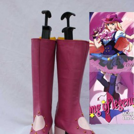 Macross Frontier Cosplay Sheryl Nome Cosplay Show Boots