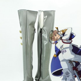 Macross Frontier Cosplay Sheryl Nome Long Cosplay Boots