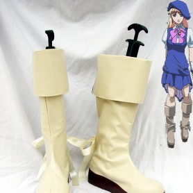 Macross Frontier Sheryl Nome Cosplay Boots