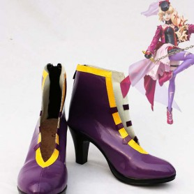 Macross Frontier Sheryl Nome Purple Cosplay Boots