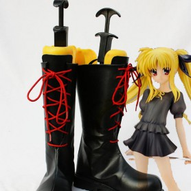 Magical Girl Lyrical Nanoha Cosplay Fate's Show Boots