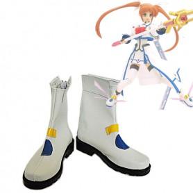 Magical Girl Lyrical Nanoha Nanoha Takamachi Cosplay Boots