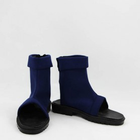 Naruto Cosplay Blue Ninja Short Cosplay Boots