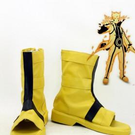Naruto Uzumaki Naruto Nine-Tails Bijuu Mode Cosplay Boots