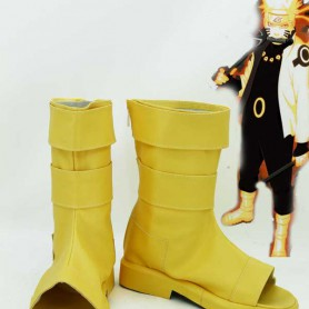 Naruto Uzumaki Naruto Six Paths Mode Cosplay Boots