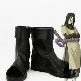 Naruto Cosplay Orochimaru Black Cosplay Ninja Boots