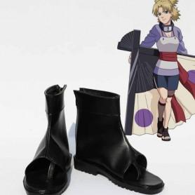 Naruto Cosplay Temari Black Cosplay Ninja Boots