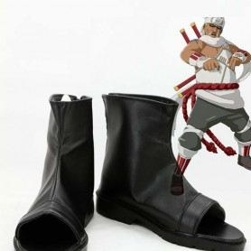 Naruto Killer B Black Ninja Cosplay Boots