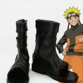 Naruto Naruto Uzumaki Black Ninja Cosplay Boots