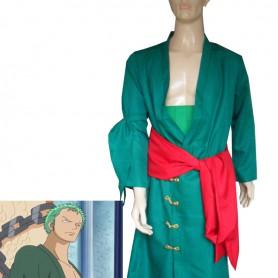 One Piece Cosplay Uniform Cloth Roronoa Zoro Suit
