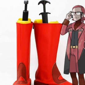 Pocket Monster/Pokemon Maxie Red Cosplay Boots