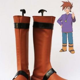 Pokemon Adventures Cosplay Gary Oak Cosplay Boots