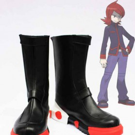 Pokemon Adventures Cosplay Silver Cosplay Boots