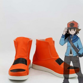 Pokemon Black and White Hilbert Cosplay Boots
