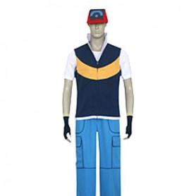 Pokemon Cosplay Ash Ketchum Cosplay Costume 2