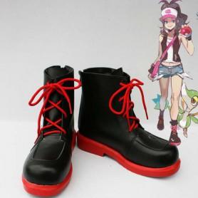 Pokemon Cosplay Touko Black Cosplay Boots