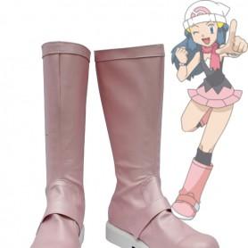 Pokemon Diamond & Pearl Cosplay Dawn Cosplay Boots
