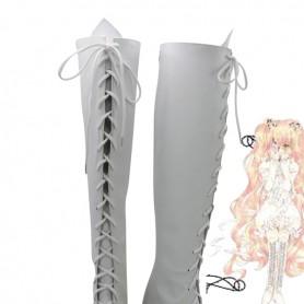 Rozen Maiden Cosplay Kirakisho White Cosplay Boots