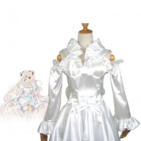 Rozen Maiden Cosplay Kirakishou White Cosplay Costume