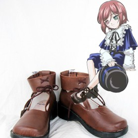 Rozen Maiden Cosplay Lapis Lazuli Stern Brown Cosplay Shoes