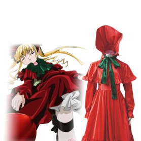 Rozen Maiden Cosplay Shinku/Reiner Rubin Cosplay Costume