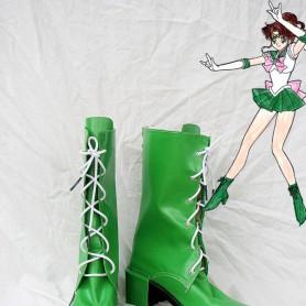 Sailor Moon Kino Makoto / Sailor Jupiter Cosplay Boots