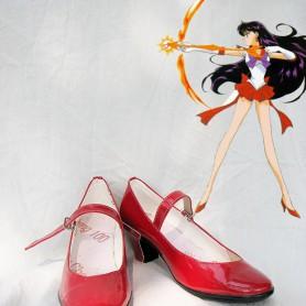 Sailor Moon Rei Hino/ Sailor Mars Cosplay Shoes