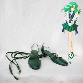 Sailor Moon Sailor Neptune Cosplay Shoes