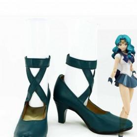 Sailor Moon Sailor Neptune Michiru Kaiou Cosplay Shoes